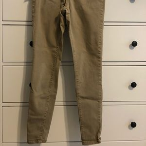 Universal thread skinny khaki pants